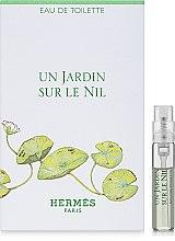 Hermes Un Jardin sur le Nil - Туалетная вода (пробник) — фото N1