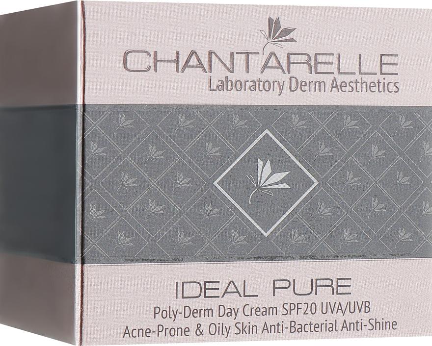 Матирующий дневной крем для жирной кожи - Chantarelle Poly-Derm Sebum Balance Day Cream SPF 20