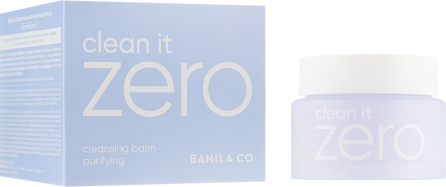 Бальзам очищающий с экстрактом ацеролы - Banila Co. Clean It Zero Cleansing Balm Purifying