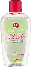Духи, Парфюмерия, косметика Средство для снятия макияжа с чувствительных глаз - Dermacol Sensitive Eye Make-Up Remover