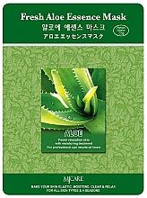 Духи, Парфюмерия, косметика Тканевая маска для лица с алоэ - MJ Care Fresh Aloe Essence Mask
