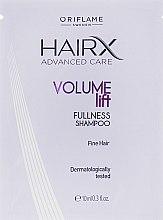 Духи, Парфюмерия, косметика Шампунь для придания объема тонким волосам - Oriflame HairX Volume Lift Fullness Shampoo (пробник)