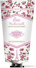 Духи, Парфюмерия, косметика Крем для рук - Institut Karite Rose Mademoiselle Light Shea Hand Cream