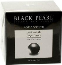 Ночной крем для лица против морщин - Sea Of Spa Black Pearl Age Control Anti-Wrinkle Night Cream For All Types Of Skin — фото N3