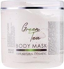 "Духи, Парфюмерия, косметика Маска для лица и тела ""Зеленый чай"" - Hristina Cosmetics Sezmar Professional Body Mask Green Tea"