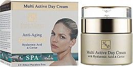 Духи, Парфюмерия, косметика Мультиактивный дневной крем для лица с гиалуроновой кислотой - Health And Beauty Multi Active Day Cream