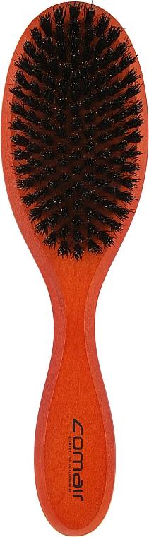 Щетка для волос с натуральной щетиной 11-рядная - Comair