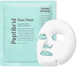 Духи, Парфюмерия, косметика Увлажняющая успокаивающая маска для лица - Vitabrid Peptibrid Dual Mask Soothing & Balancing