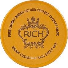 Духи, Парфюмерия, косметика Аргановая маска-терапия, защищающая цвет волос - Rich Pure Luxury Argan Colour Protect Therapy Mask