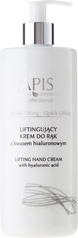 Крем для рук с гиалуроновой кислотой - APIS Professional Quick Lifting Hand Cream