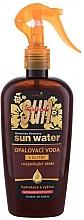 Духи, Парфюмерия, косметика Вода с глитером для усиления загара - Vivaco Sun Bronz Glitter Water