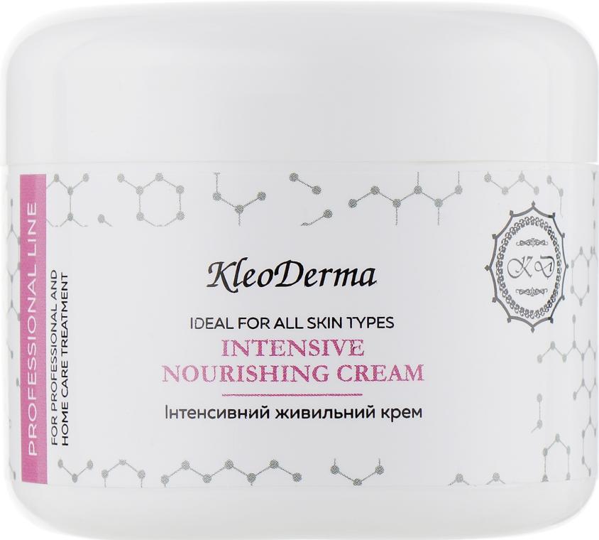 Интенсивный питательный крем - Kleoderma Intensive Nourishing Cream