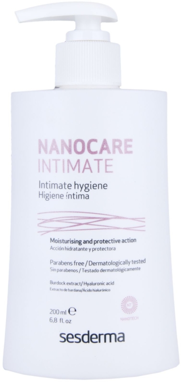 Гель для интимной гигиены - SesDerma Laboratories Nanocare Intimate Hygiene Gel