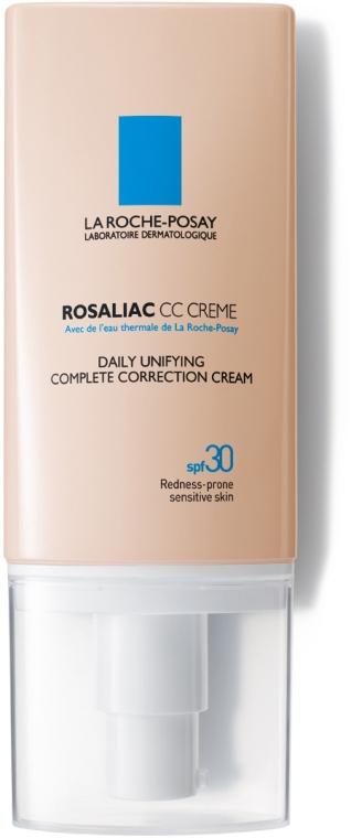 CC-крем для кожи с покраснениями и розацеа - La Roche-Posay Rosaliac CC Cream SPF30