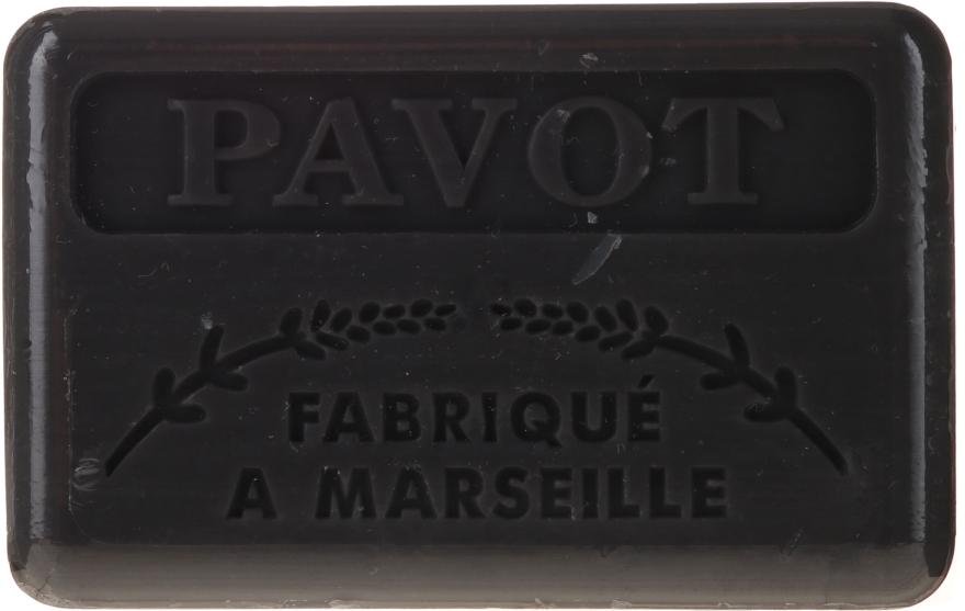 "Марсельское мыло ""Мак"" - Foufour Savonnette Marseillaise Pavot"