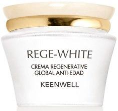 Духи, Парфюмерия, косметика Восстанавливающий омолаживающий крем - Keenwell Rege-White All-Over Anti-Ageing Regenerative Cream