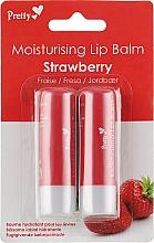 Духи, Парфюмерия, косметика Бальзам для губ «Клубника» - Pretty Moisturising Lip Balm Strawberry