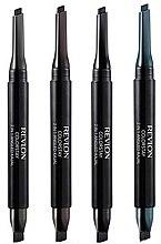 Духи, Парфюмерия, косметика Стойкая подводка для глаз - Revlon ColorStay 2 in 1 Angled Kajal