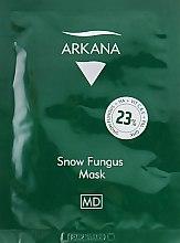 Восстанавливающая маска с пептидом PAL-GHK - Arkana Snow Fungus Mask — фото N1