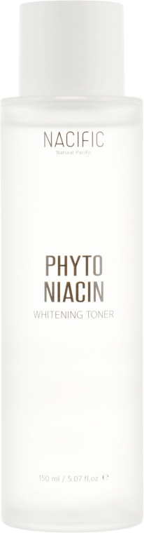Тонер для лица, осветляющий - Nacific Phyto Niacin Whitening Toner — фото N2