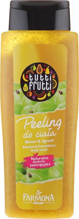 """Скраб для тела кремовый """"Банан и Крыжовник"""" - Farmona Tutti Frutti"""