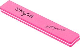 Духи, Парфюмерия, косметика Пилка-полировщик для для ногтей, 100/180, розовый - MylaQ