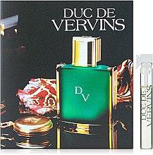 Духи, Парфюмерия, косметика Houbigant Duc de Vervins - Туалетная вода (пробник)