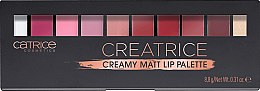 Духи, Парфюмерия, косметика Палетка для макияжа губ - Catrice Creatrice Creamy Matt Lip Palette