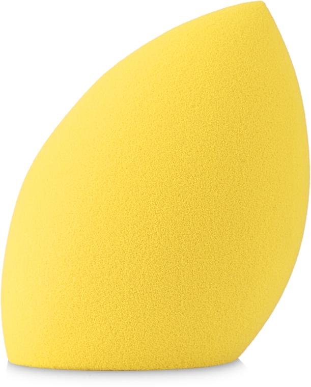 Спонж для макияжа с плоским срезом, HB-206, желтый - Ruby Rose