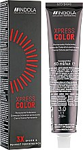 Духи, Парфюмерия, косметика Перманентная крем-краска для волос - Indola Xpress Color 3X Speed & Perfect Performance