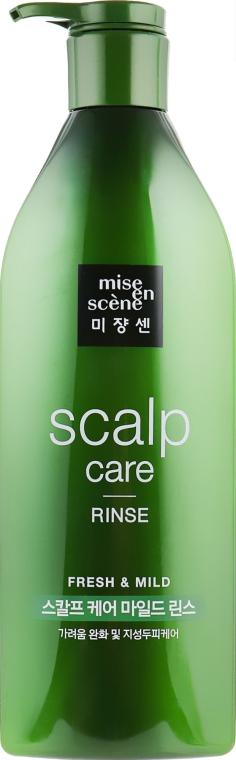 Восстанавливающий кондиционер для чувствительной кожи головы - Mise En Scene Scalp Care Rinse
