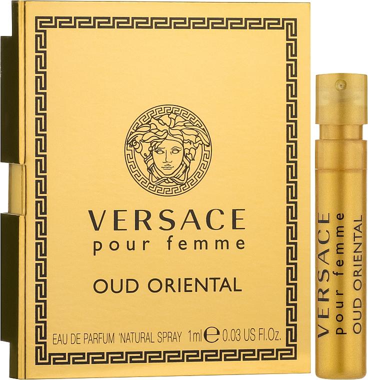 Versace Pour Femme Oud Oriental - Парфюмированная вода (пробник)