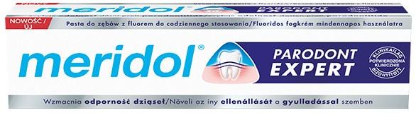 Зубная паста против кровоточивости десен и пародонтоза - Meridol Parodont Expert