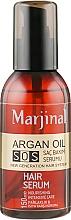 Духи, Парфюмерия, косметика Сыворотка для волос с аргановым маслом - Marjinal Argan Oil Hair Serum