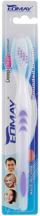 Зубная щетка, средней жесткости, 9901 фиолетовая - Eomay