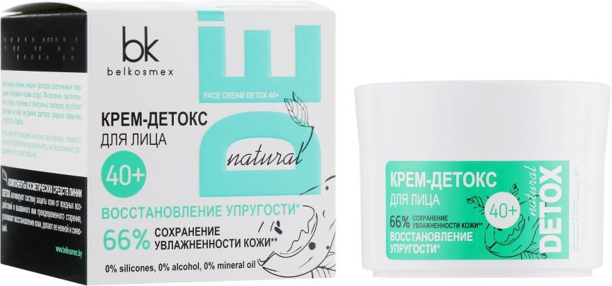 Крем-детокс для лица 40+ - BelKosmex Detox Natural Face Cream