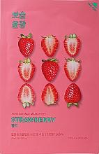 """Духи, Парфюмерия, косметика Тканевая маска """"Клубничная"""" - Holika Holika Pure Essence Mask Strawberry"""