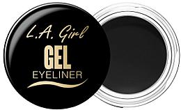 Духи, Парфюмерия, косметика Гелевая подводка для глаз - L.A. Girl Gel Eyeliner