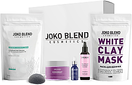 Духи, Парфюмерия, косметика УЦЕНКА Набор - Joko Blend Relax Gift Pack (mask/150g + mask/100g + b/scr/200g + oil/10ml + h/oil/100ml + sponge) *