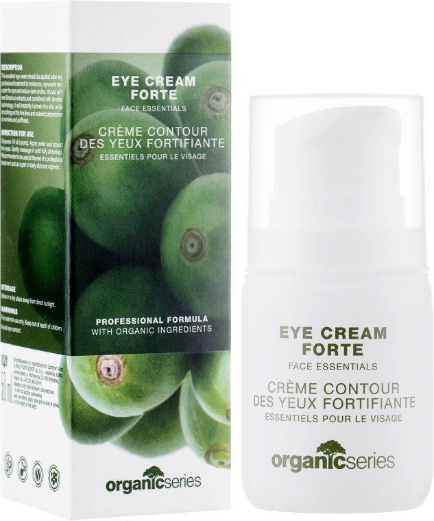 Крем под глаза - Organic Series Eye Cream Forte Fase Essentials
