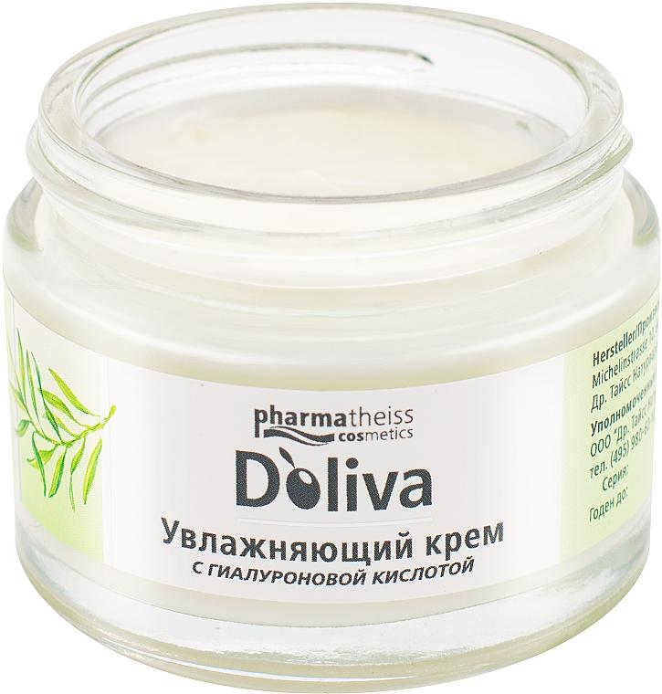 """Крем для лица """"Увлажняющий с гиалуроновой кислотой"""" - D'oliva Pharmatheiss Cosmetics Hydro Body Care"""
