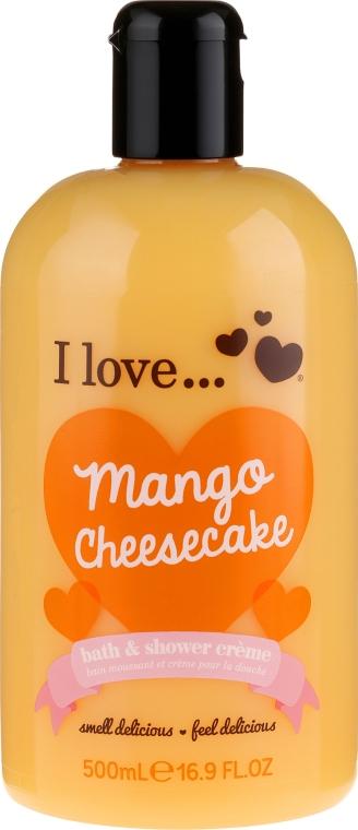 Крем для ванны и душа - I Love... Mango Cheesecake Bath And Shower Cream
