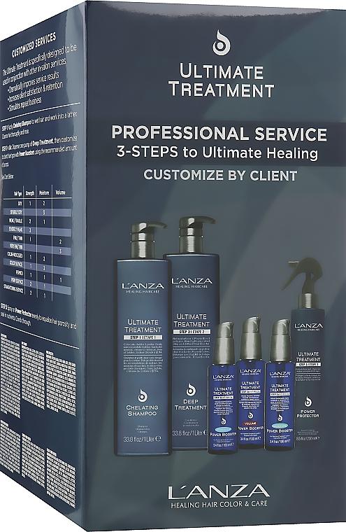 Набор - L'anza Ultimate Treatment (sh/1000ml+mask/1000ml+cond/250ml+boost/100ml+boost/100ml+boost/100ml)