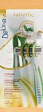 Набор одноразовых бритв, 3шт - Faberlic Deline — фото N1