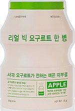 """Духи, Парфюмерия, косметика Тканевая маска """"Йогурт яблоко"""" - A'pieu Real Big Yogurt One Bottle"""