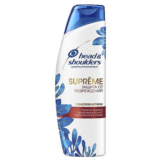 Шампунь «Защита от повреждений» с маслом арганы - Head & Shoulders Supreme