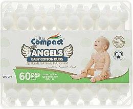 Духи, Парфюмерия, косметика Детские ватные палочки - Ultra Compact Angels Baby Cotton Buds