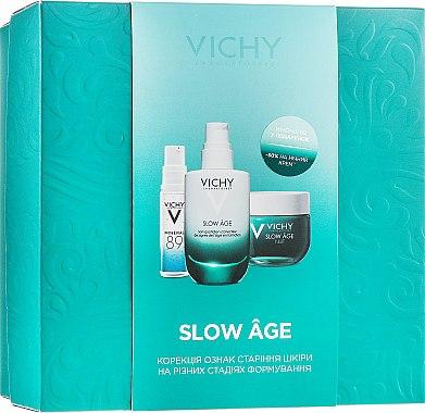 Набор - Vichy Slow Age Set (fluid/50ml + night/mask/50ml + gel/10ml)