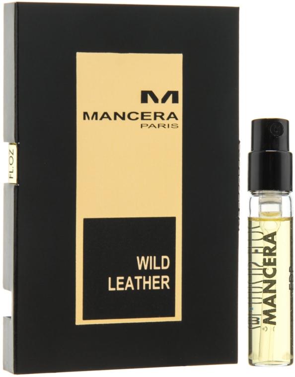 Mancera Wild Leather - Парфюмированная вода (пробник)