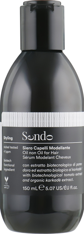 Масло для объема и контроля завитков - Sendo Styling Oil Non Oil